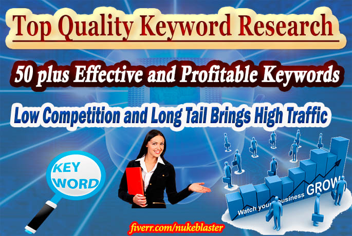 I will find best 50 low competition keywords for easy ranking