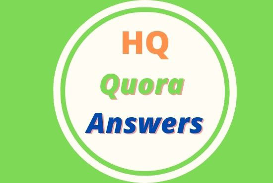 Guaranteed Targeted Traffic Your web site with 15 prime quality Quora Answer