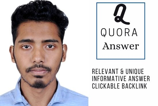 i will answer 5 question in quora