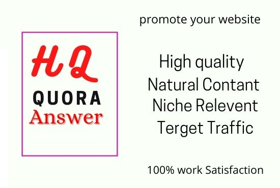 I will answer 15 relevant question in quora
