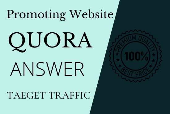 Advance your site traffic on 30 Quora answers