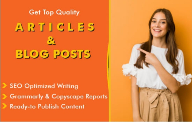 I will write 600+ SEO words unique and best quality articles for you .