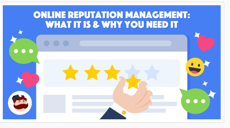 I will do awesome online reputation management ORM for your brand