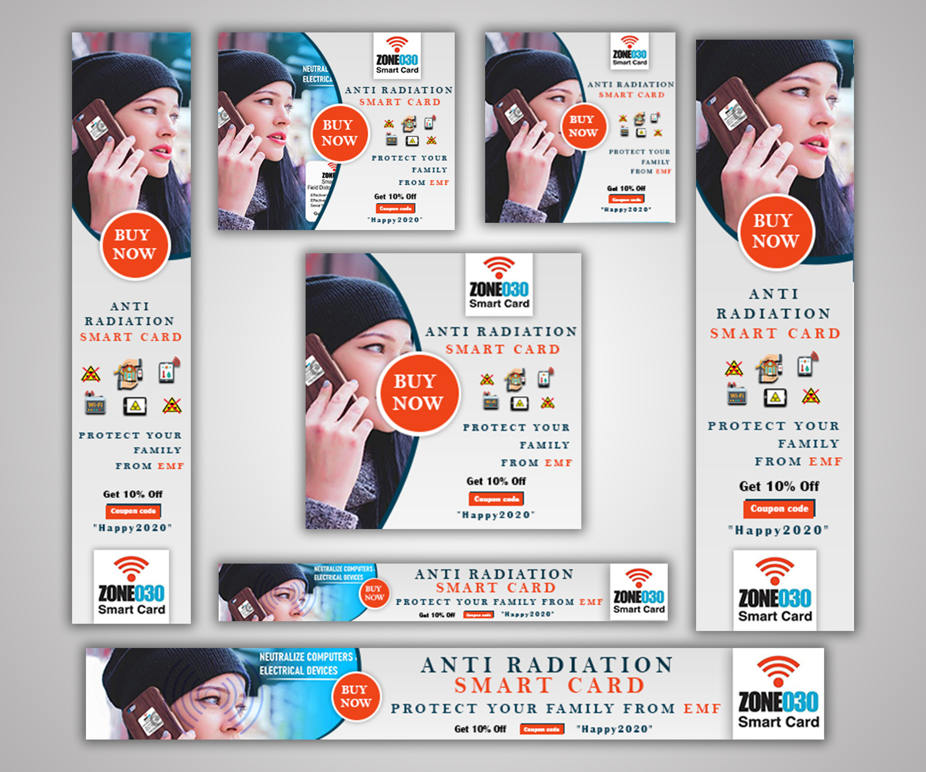 I will design attractive banner ads for google ads
