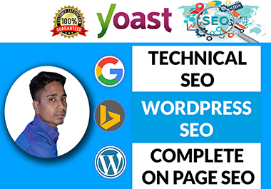 I will do wordpress yoast on page and technical SEO optimization