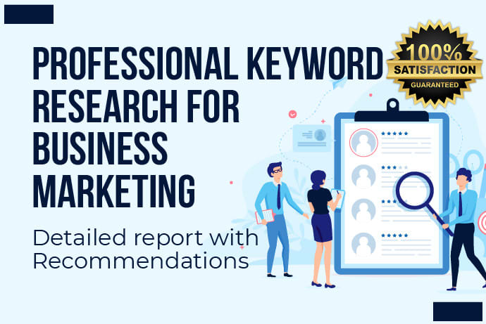 I will run keyword research for your niche or business 48h
