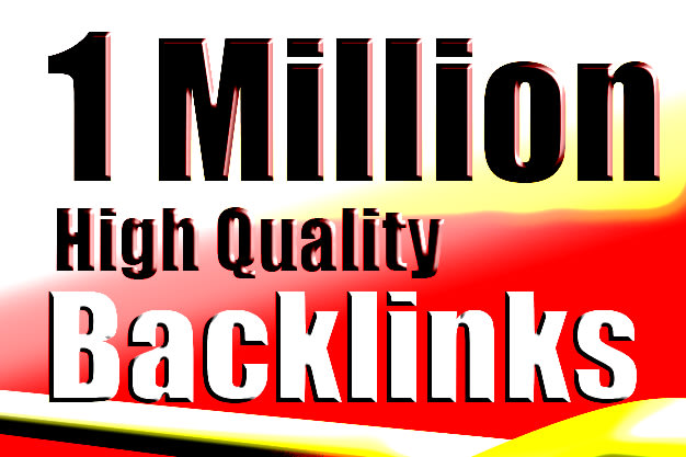I will do 1 million tier backlinks for push your rank in 4 days