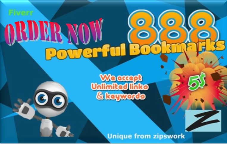 I will do 888 powerful backlinks to your site 48h