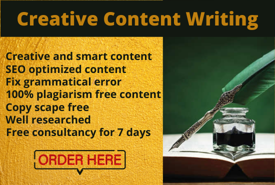 Write a 1500 words SEO friendly & Plagiarism free Article,  Content for your Blog & Website