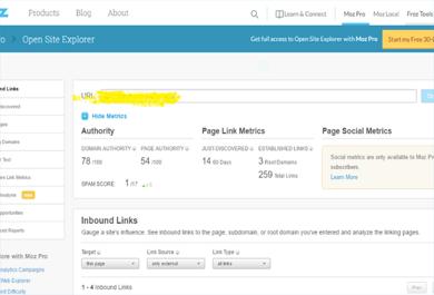 increase MOZ DA   Domain Authority 30 plus
