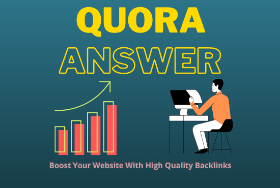 10+ Quora Unique Answers With High Quality Clickable Backlinks