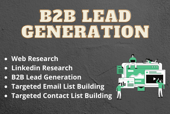 30+ B2B Lead Generation And Prospect Email List Building