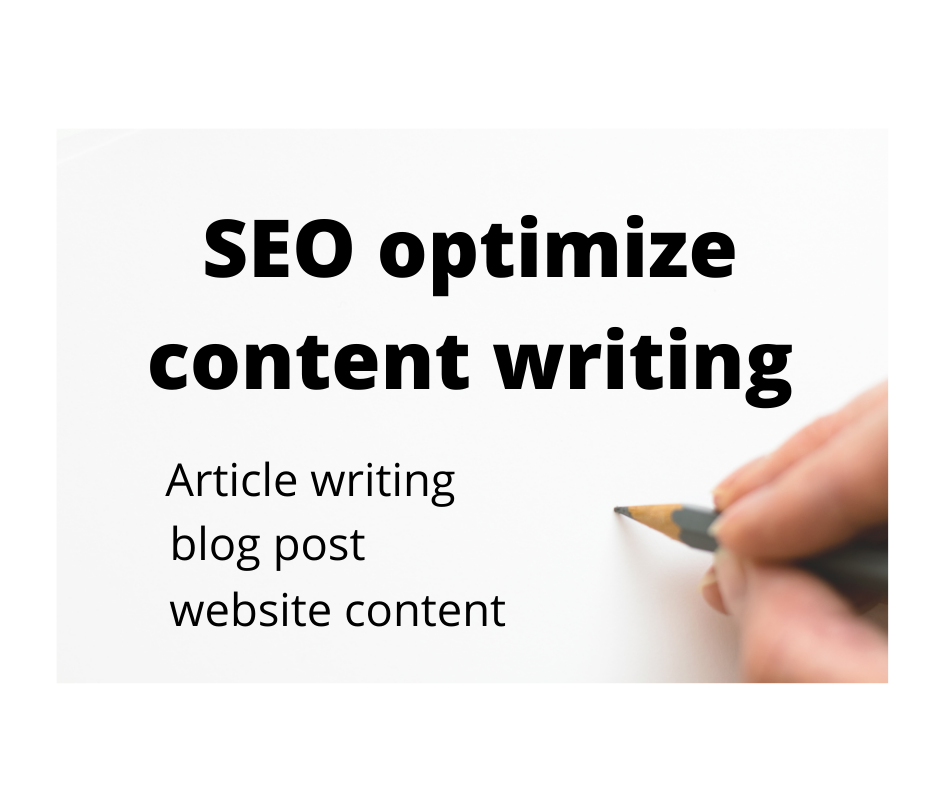 I will write SEO friendly content for your website & blogs.