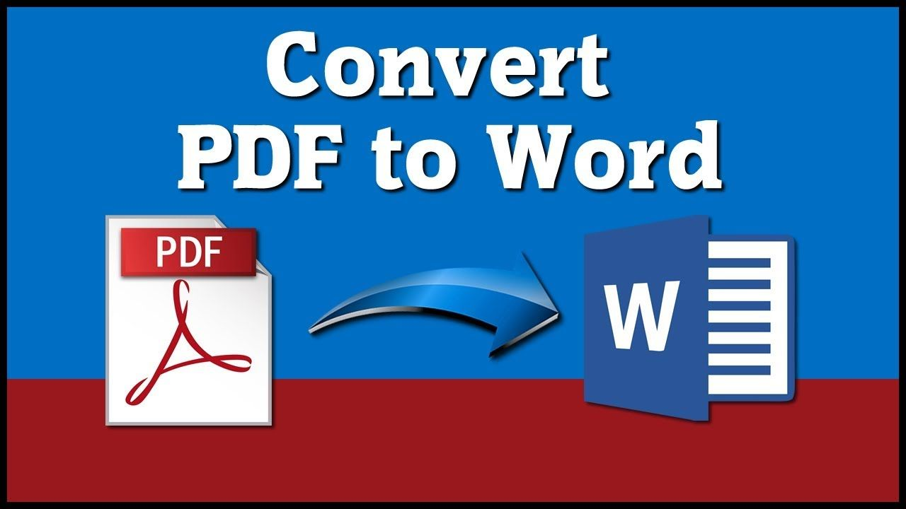 I will Convert pdf to excel or word data entry.