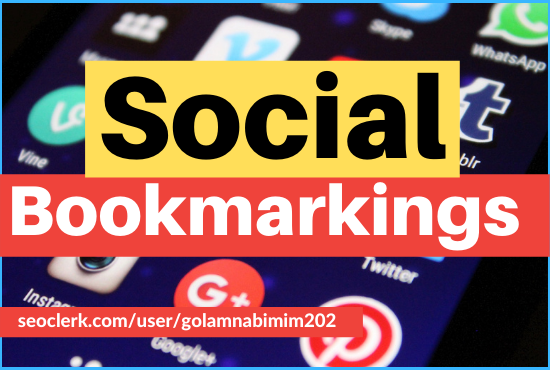 Get provide 30 high quality socialbookmarking