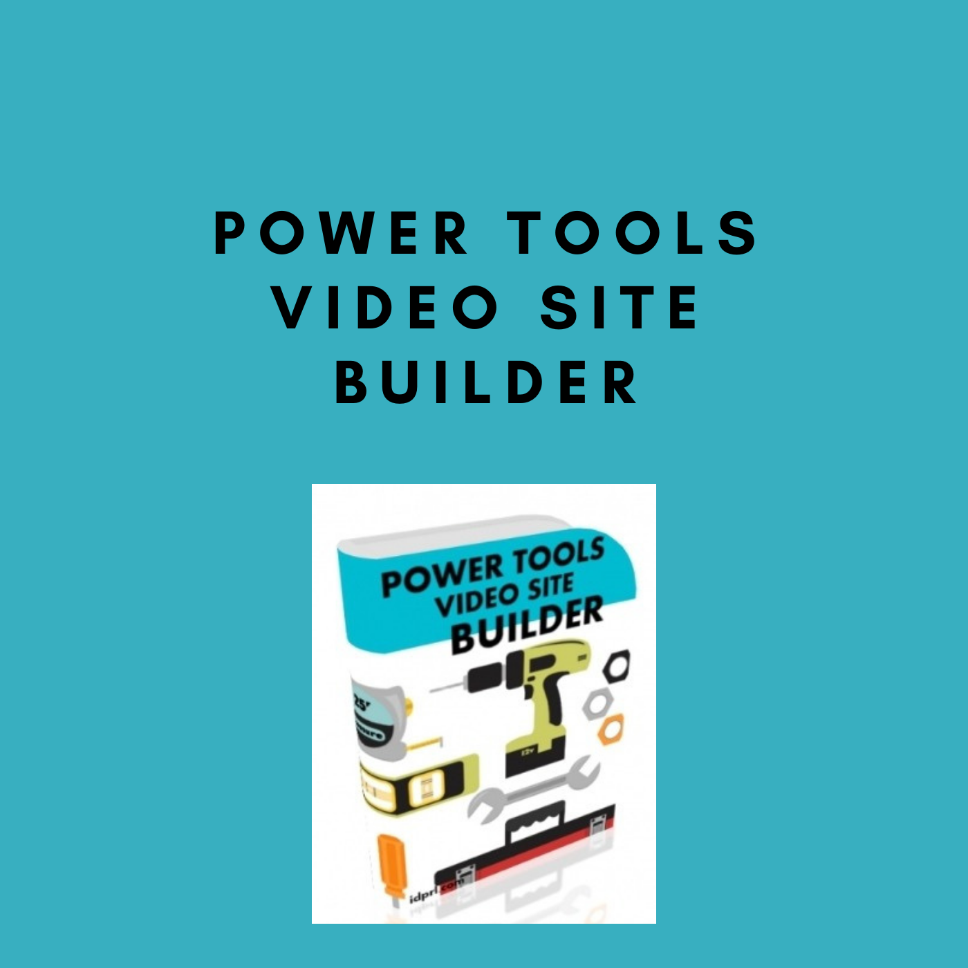 Power Tools Video Site Builder for making video site