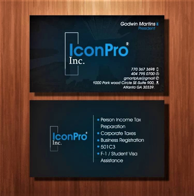 Create Your Business Card,  complimentary card