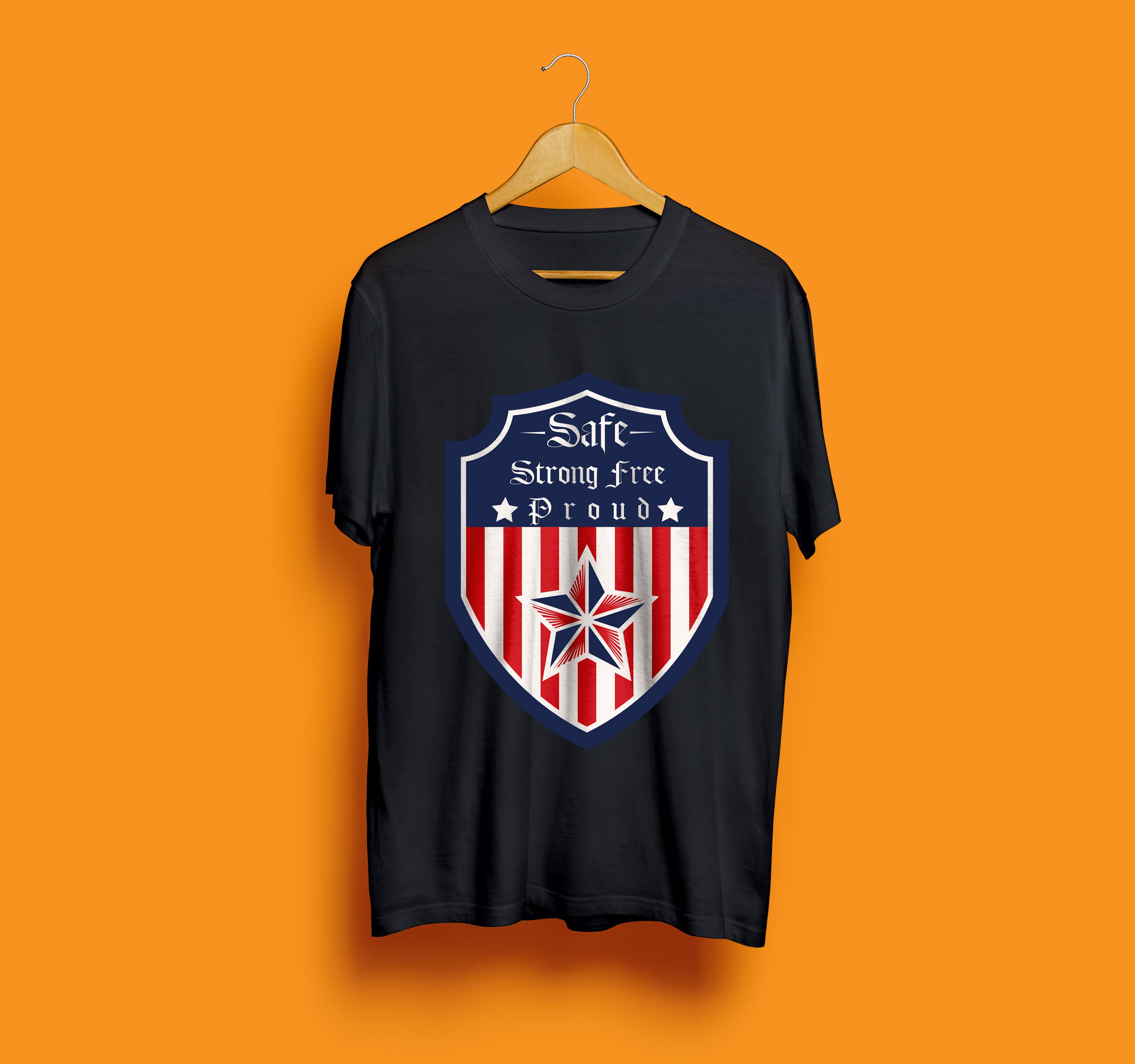 I will do trendy t shirt design