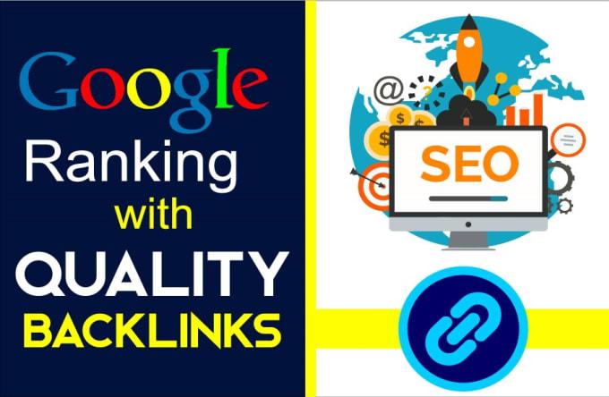 I will create high authority SEO dofollow backlinks for google rank
