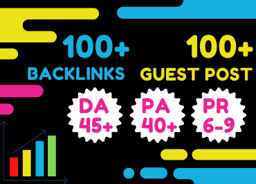 Webmaster Outreach and Guest Posting 100+ WEB 2.0 Backlinks Service