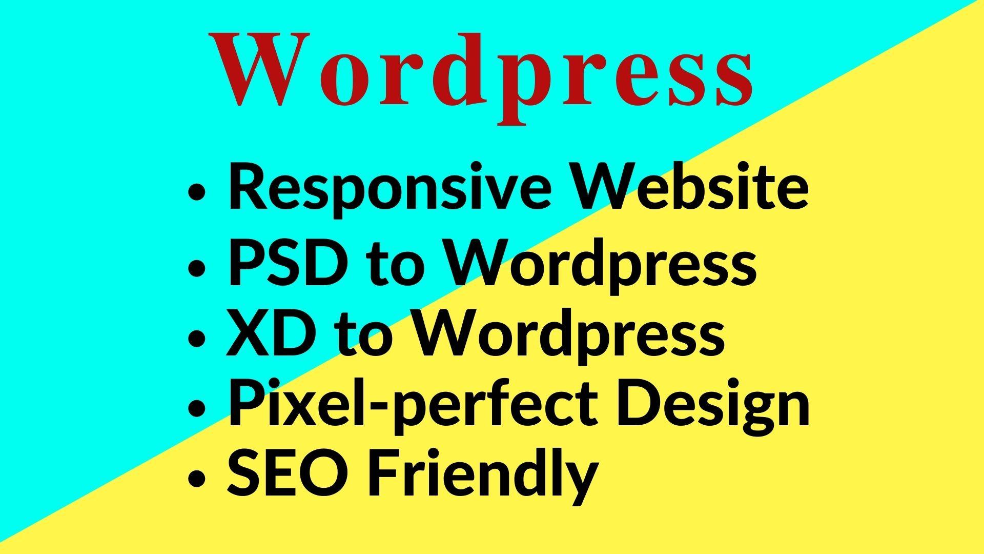 I will do wordpress theme customization and responsive web design
