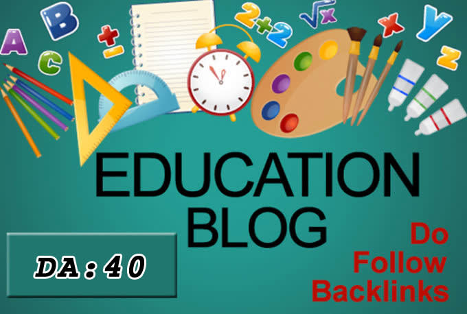 I will write and submit 20 guest post on da40 education blog
