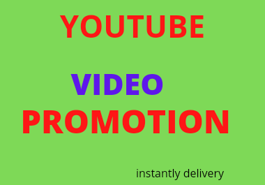 Superfast video promotion service by Mustakim84