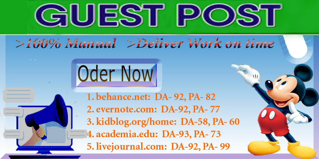 I will do guest post on 5 do follow your websites