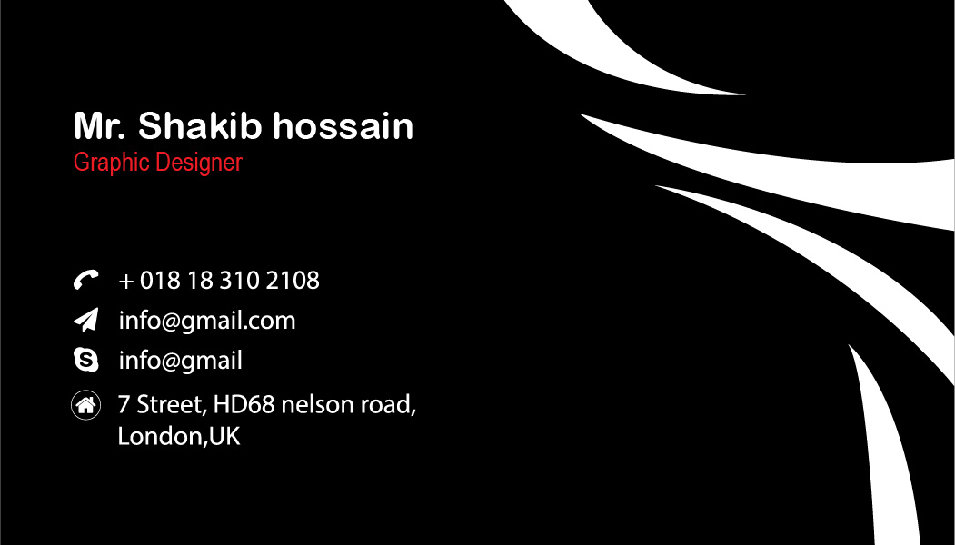 i will make impactful business card for you