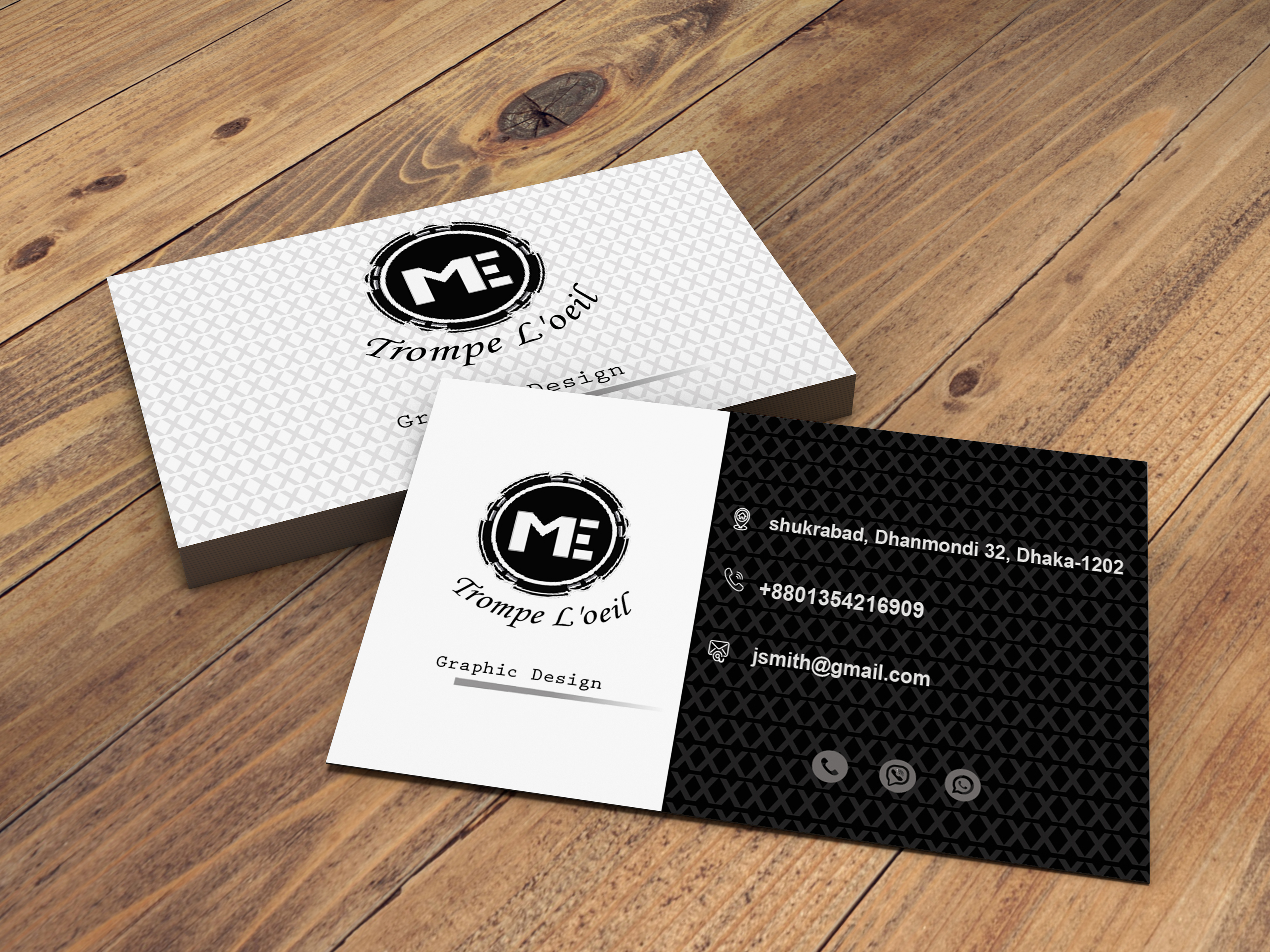 I'll create your premium Business Card within 24 hours.