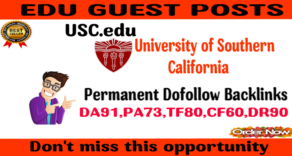 I will provide guest post on USA education website DA91&DR90