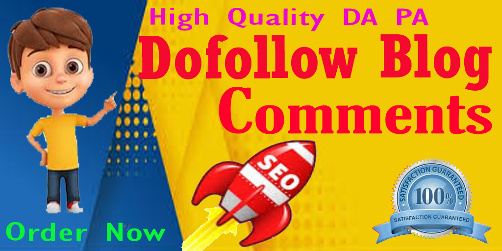 Build High Quality 60 dofollow blog comments to improve your website ranking