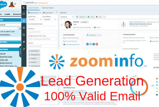 I will find targeted business email list, b2b lead generation