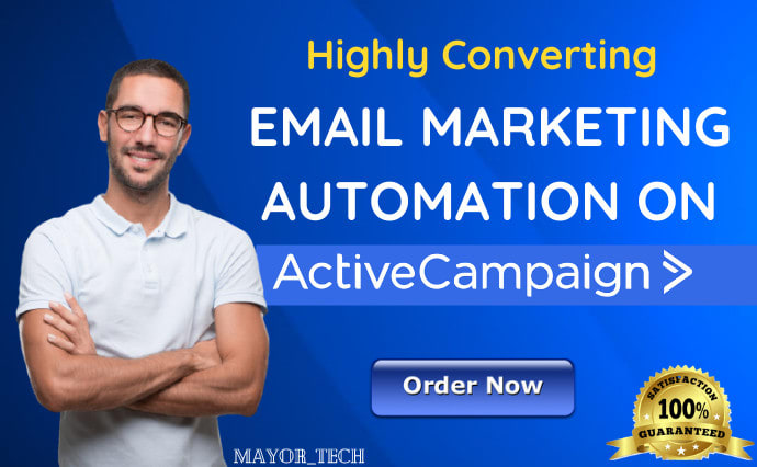 I will design your landing pages with activecampaign email automation