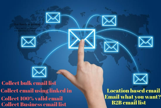 I will provide 6k niche targeted email list