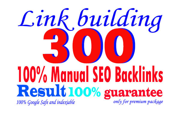 do 300 SEO backlinks white hat link building service for help google top ranking