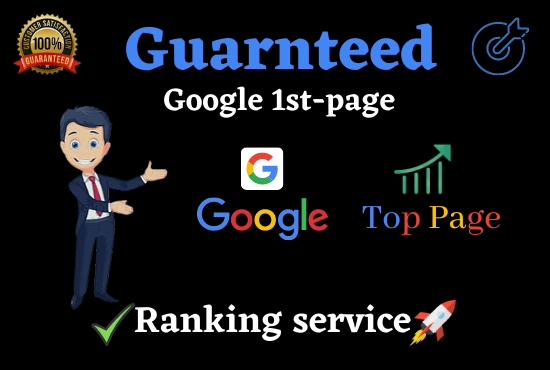 Offer for you Guaranteed Google 1st Page Ranking with white hat Link Building