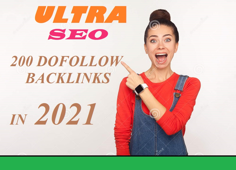 Powerful 200 SEO high quality dofollow backlinks