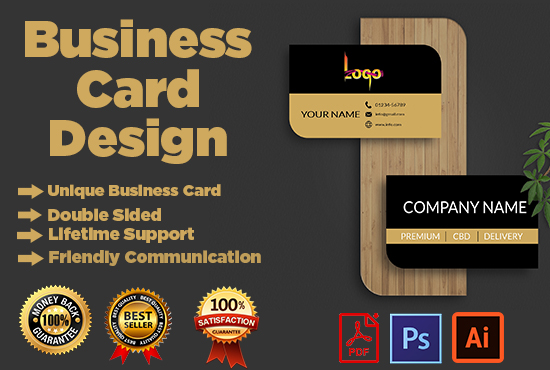 I will do extravagance business card plan