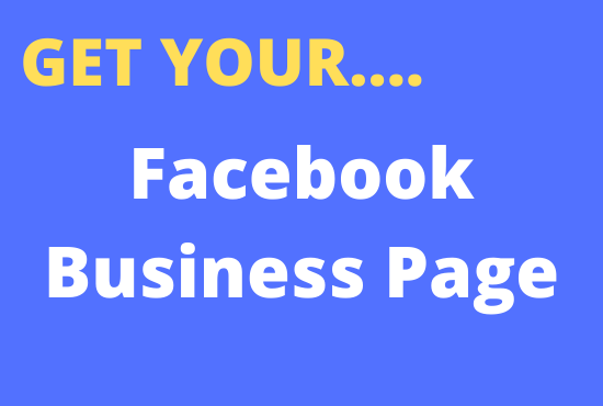 I will create or setup and optimize your Facebook Business Page with impressive design