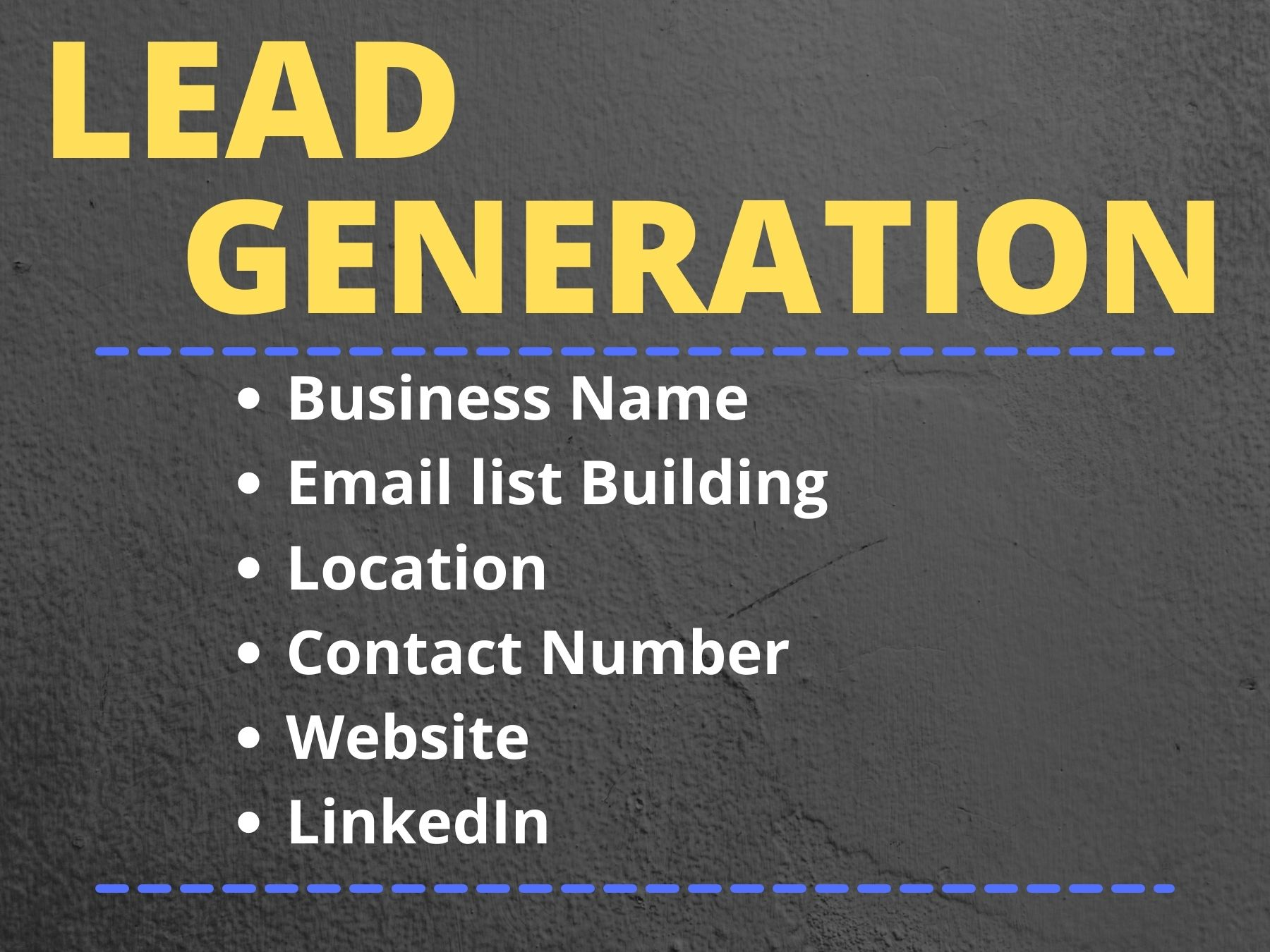 I will do b2b lead generation & provide 100 LinkedIn leads with valid email