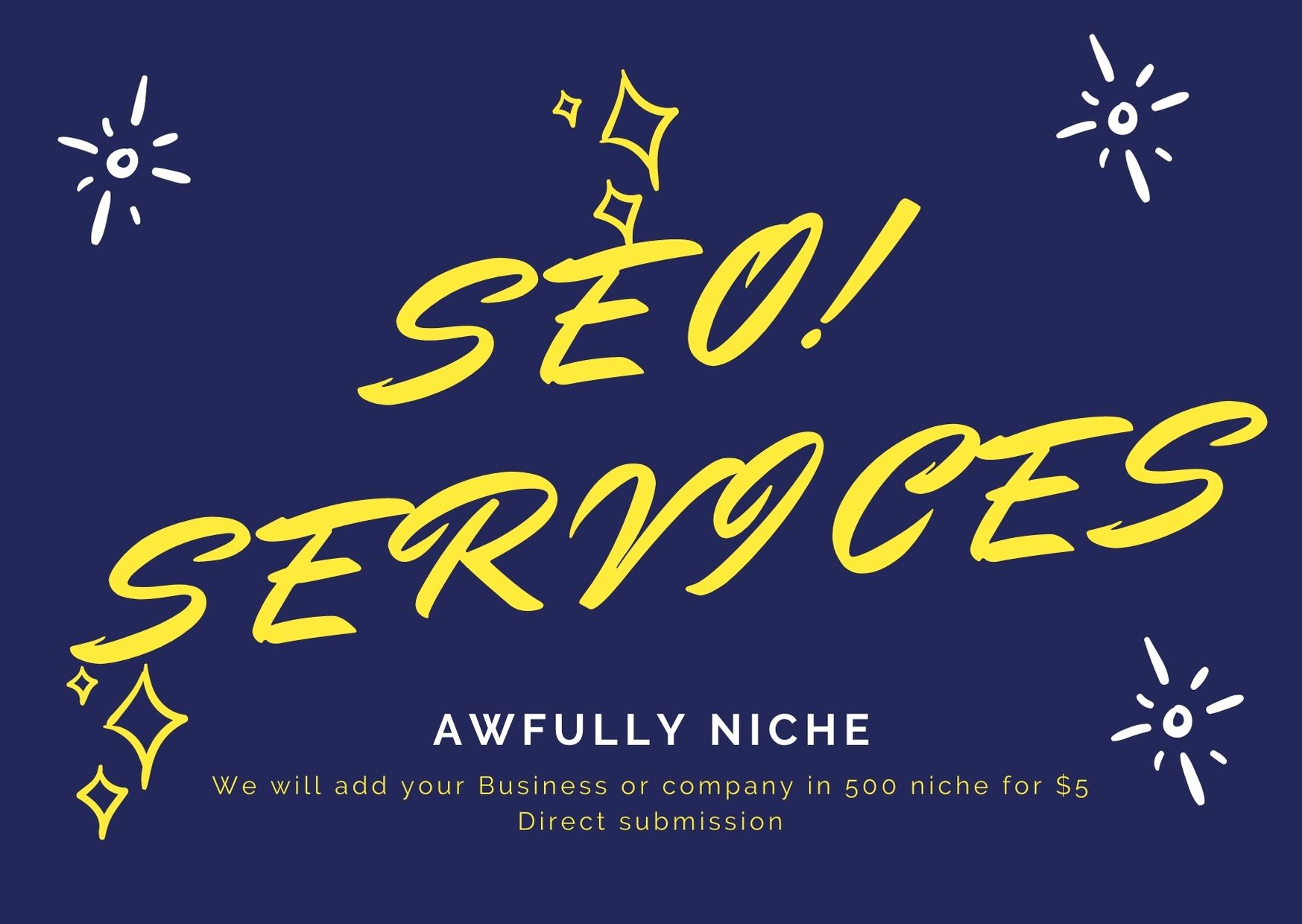 I will do 500 manually High-Quality Directory submission SEO Backlinks