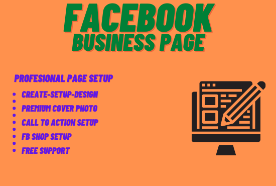I will do facebook business page creation and setup