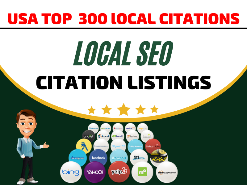 I Will do USA high quality 30 local citations