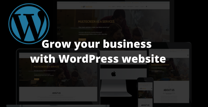 create professional and responsive wordpress website