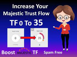 I Will Increase Your Website Majestic Trust Flow 35+