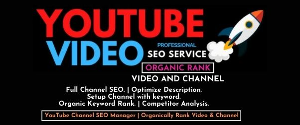 I will do perfect YouTube SEO to improve ranking of video and grow audience with backlinks