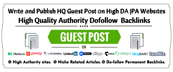 Firstly Indexable Guest post on Medium.com DA 95, PA 81 with High authority Permanent Backlinks