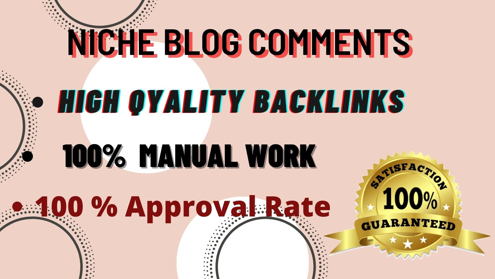 I Will Create High Quality 50 Niche Relevant Blog comments Backlinks