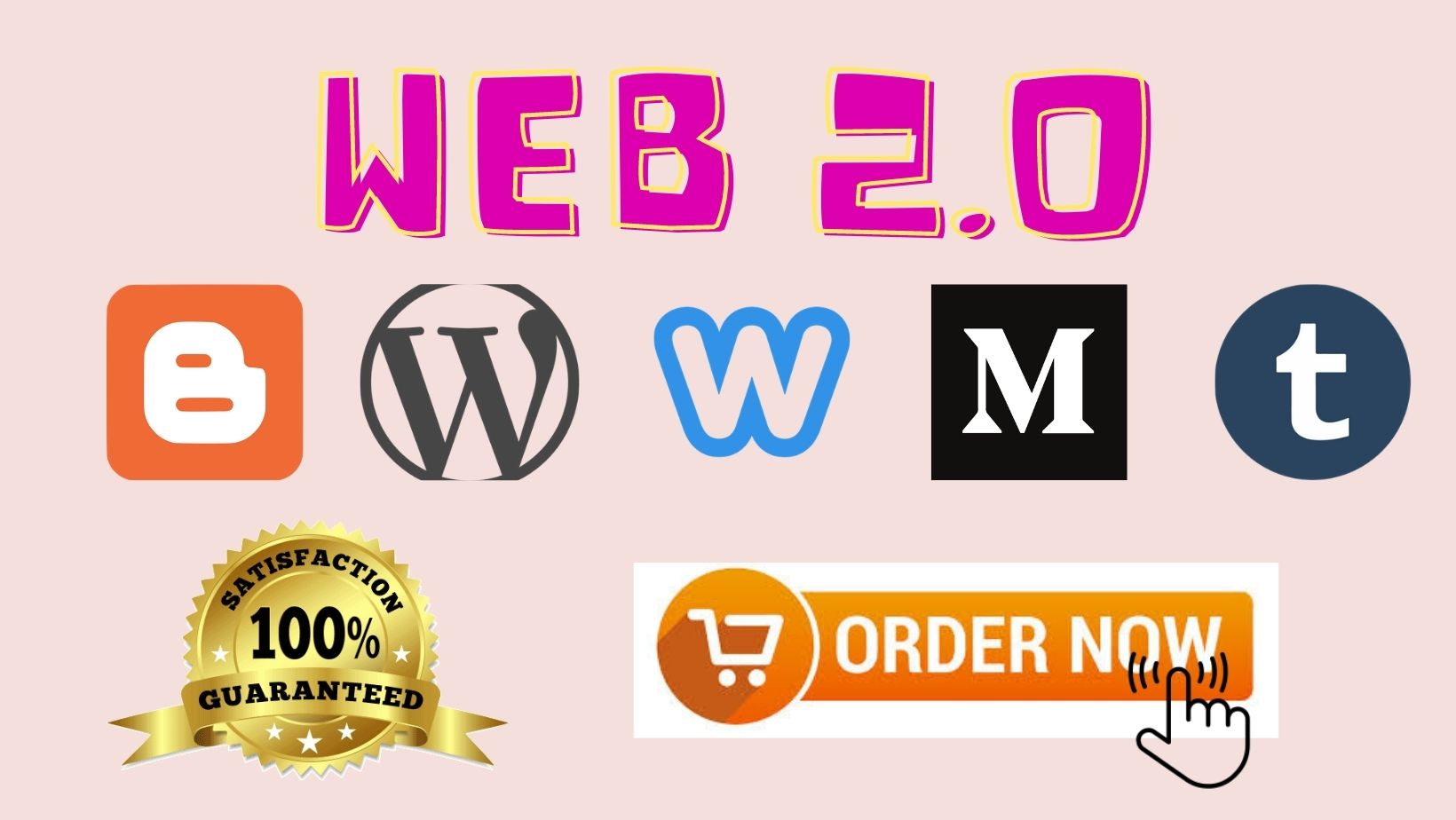 I will Create 20 High Quality Web 2.0 Manual Backlink publised on your article